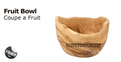 Olive Wood Fruit Bowls